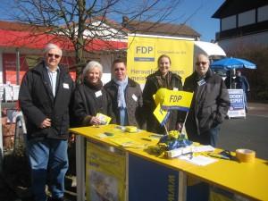 Bild 3-300x225 in Auch für die Liberalen in Fuldatal hat der Wahlkampf zur anstehenden Kommunalwahl an Fahrt aufgenommen